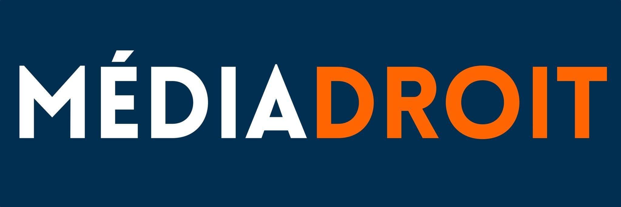 Logo de MédiaDroit rectangulaire